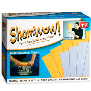 Shamwow Towels (Set of 8)