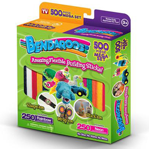 BENDAROOS 500 PIECE MEGA SET